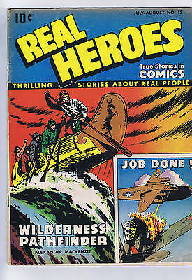 Real Heroes #15 Parents Magazine 1946