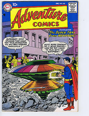 Adventure Comics #243 DC Pub 1957