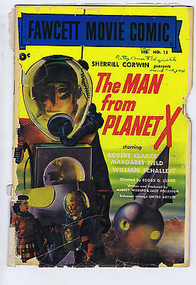 Man From Planet X( F.M.C.#15) SCARCE 1952 MOVIE CLASSIC