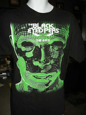 "BLACK EYED PEAS! - ""The End"" Classic T-Shirt, Adult XL"