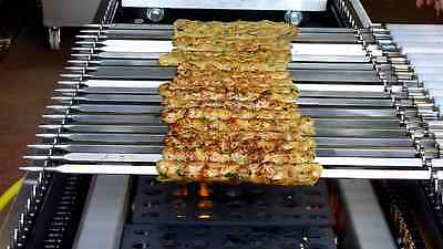 Seekh Kebab Conveyor Charcoal Grill ORIGINAL New Design Automatic Rotating