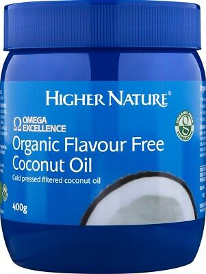 Higher Nature Organic Flavour Free Coconut Butter for cooking 400g