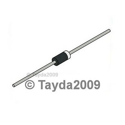 100 x 1N5818 Diode Schottky 1A 30V - Free Shipping