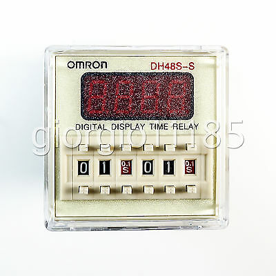 110V AC Programmable Double Time Delay Relay DH48S-S