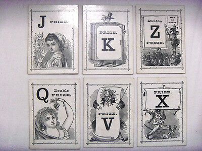 1874 Card Game Logomachy F A Wright rules early