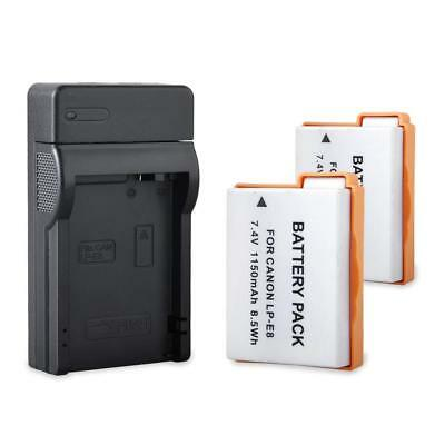 USB Battery charger for Canon LP-E8 EOS 550D 600D 700D 650D T3i T2i AU