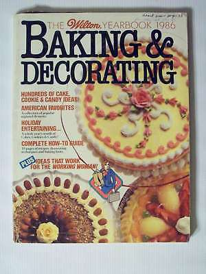 Nice Vintage 1986 Wilton Cake Decorating Yearbook