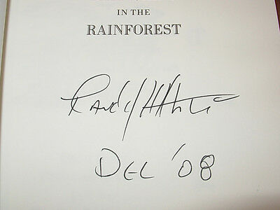 Batfishing in the Rainforest~ Randy Wayne White signed