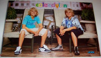 Dylan & Cole Sprouse - The Suite Life Deck - Centerfold - Poster - Pinup - 2007