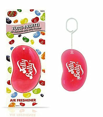 Jelly Belly Bean 3D Car Home Office Air Freshener Tutti Fruitti Fragrance NEW
