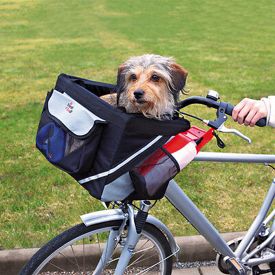 NEW Dog Bike Front Box Carrier For Bicycles Small Dogs