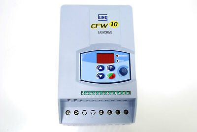 VFD 1HP 230V 1Ph Input Phase Converter - 4A - 230V 3Ph Out WEG w/ Speed Knob