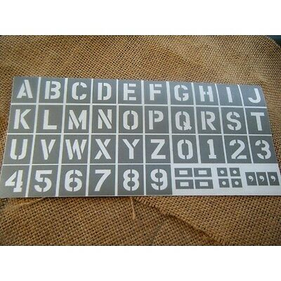 pochoir jeep kit complet alphabet us 3 pouces