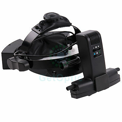 HEAD-WEAR BINOCULAR INDIRECT Ophthalmoscope with Aluminium Briefcase New
