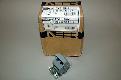 Oz Gedney Neer PVC-8642  PVC8642 Service Entrance Cable Fitting #8-3 to #2-3 NEW
