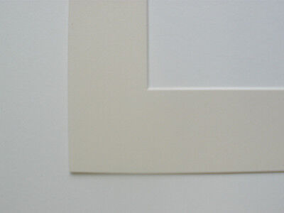 Pack Of 10 Ivory 10X8 Inch Picture Mounts