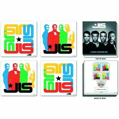 JLS 4x Drinks Coaster Set Gift Idea Fan Album Cover Art Picture Image