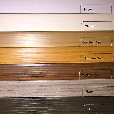 Faux Wood Wooden Venetian Blinds  Made To Measure   Child Safe  Waterproof