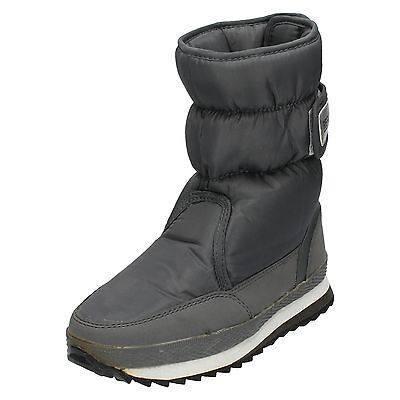 WHOLESALE  Boys Grey Warm Lined Snow Boots 13 -6 14 Prs H4048  RRP £19.99