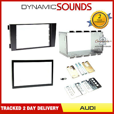 CT23AU03A Double DIN Car CD Fascia Surround Panel Fitting Kit For Audi A6