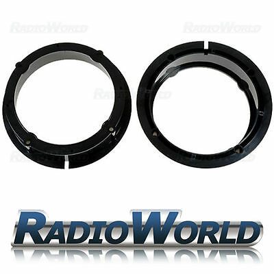 VW Golf IV,Passat, Polo, Skoda, Seat Leon Speaker Adaptors Rings 165mm 6.5""