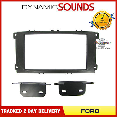 CT23FD07 Car Stereo Double Din Fascia Panel Adaptor for FORD Mondeo Focus S-Max