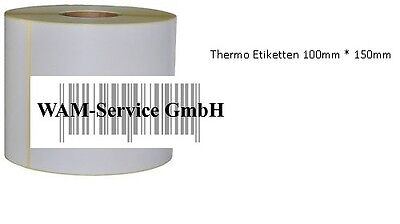 6000 Versandetiketten Thermo ECO 100mm * 150mm