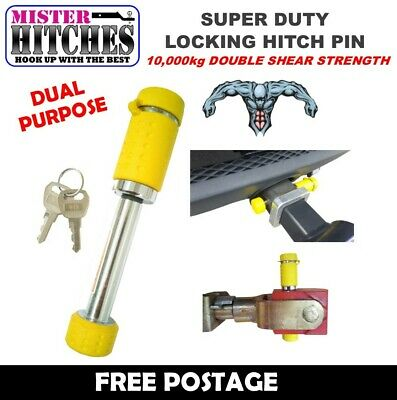 "Towbar Hitch Lock Pin Suit Hayman Reese 2"" X 2"" Hitch Tow Bar Trailer Receiver"
