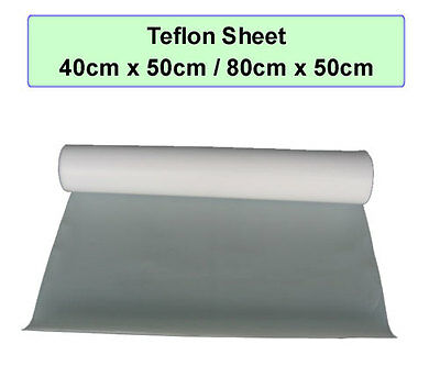 2x PTFE Non Stick Teflon Sheet for Heat Press Transfer T-Shirt Printing 40x50