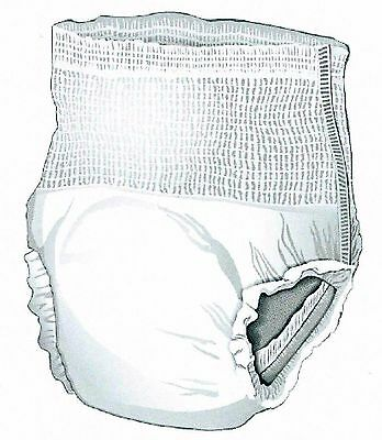 Case of 72 Size Large Pull On Underwear Disposable Disposable Brief Adult Diaper