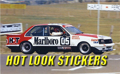 1:18 Peter Brock MISSING Vinyl Decals 1980 Bathurst Winner VC Commodore