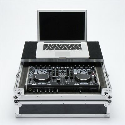 MAGMA WORKSTATION MC 6000 flight case per DJ porta controller + laptop NUOVO