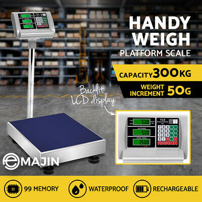 i.Precision 300kg Electronic Digital Platform Scale Computing Shop Postal Scales