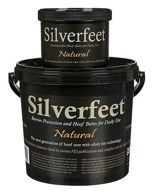 Silverfeet Coloured Antimicrobial Hoof Balm with Silver Ion Technology