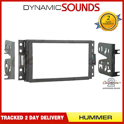 CT23HU01 Car CD Stereo Double Din Fascia Panel Fitting Kit For HUMMER H3 2005-09