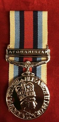 """Full Size Osm Afghanistan Clasp Brand New - Op Herrick-  With 10"""" Of Ribbon"""
