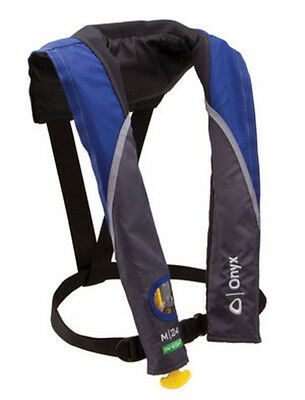 Onyx Outdoor M /24 In-Sight Blue Manual Inflatable PFD Life Jacket