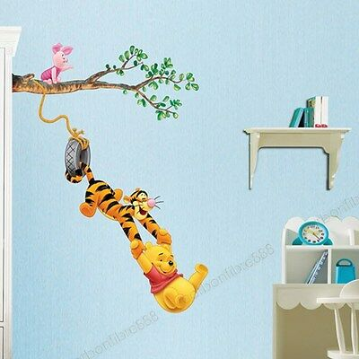 Children/Kids/Nursery Winnie The Pooh & Tiger Wall Stickers