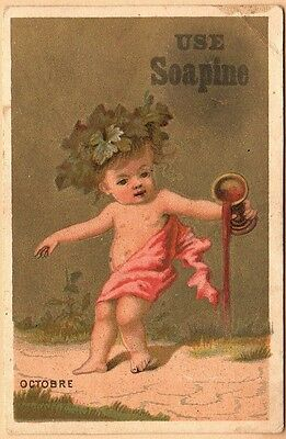 Victorian Trade Card-Soapine-Kendall Mfg Co-Providence RI