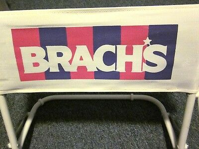 BRACH's CONFECTIONS logo folding beach chair Candy Corn sweets rare