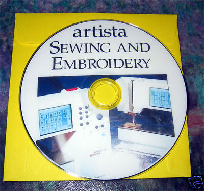 BERNINA Artista Sew Embroidery Instruction DVD 170,180