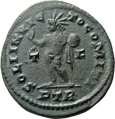 Constantine I The Great Follis / Sol Ancient Roman Coin