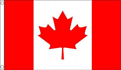 3' x 2' Canada Flag Canadian Red Maple Leaf National Flags Banner