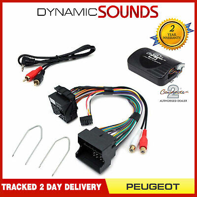PEUGEOT 207, 407, 307, 607, 807 AUX Input iPod iPhone MP3 Adaptor FREE DELIVERY