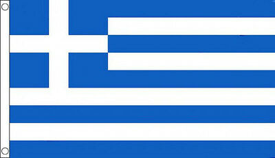 3' x 2' Greece Flag Greek National Flags Europe  Banner