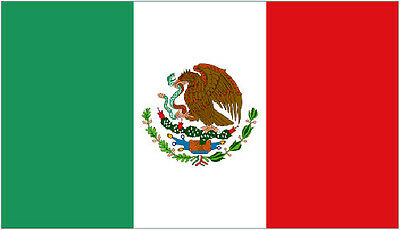 3' x 2' Mexico Flag Mexican National Flags Central American Country Banner