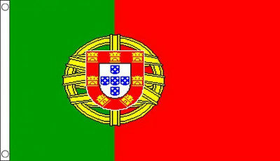 3' x 2' Portugal Flag Portuguese National Flags Europe European Country Banner