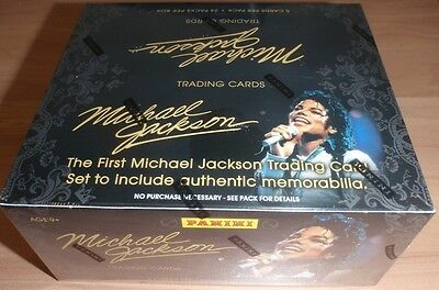 Michael Jackson Panini Official Collector Cards Hobby Box New Sealed Rare