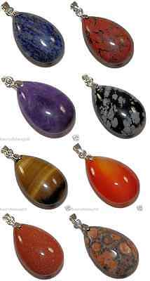 Tear Drop Pendant - Various Ones To Choose From - Cheap