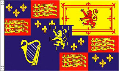 5' x 3' King William lll Royal Standard Flag 1689 to 1702 Banner